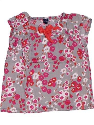 Blusa de manga corta niña TERRE DE MARINS violeta 4 años verano #1321534_1