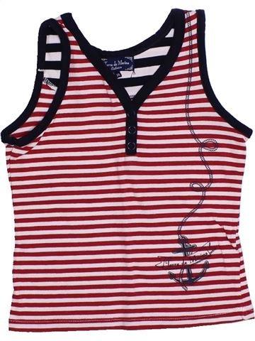 T-shirt sans manches fille TERRE DE MARINS marron 2 ans été #1321707_1