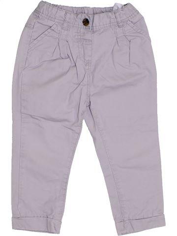 Pantalon fille TAPE À L'OEIL violet 2 ans été #1321724_1