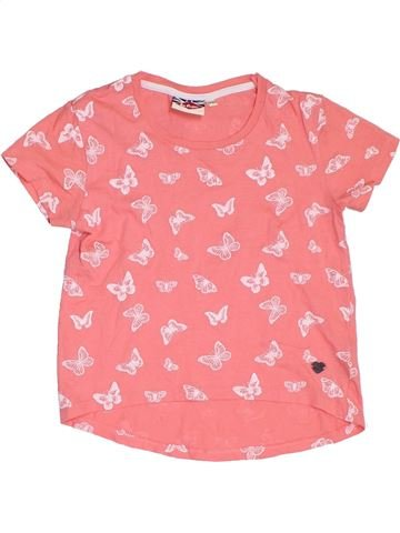T-shirt manches courtes fille LEE COOPER rose 10 ans été #1322257_1