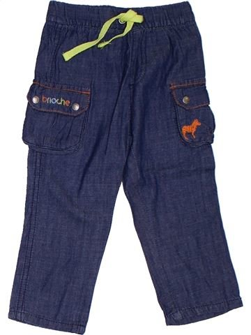 Pantalón niño BRIOCHE azul 9 meses verano #1322740_1