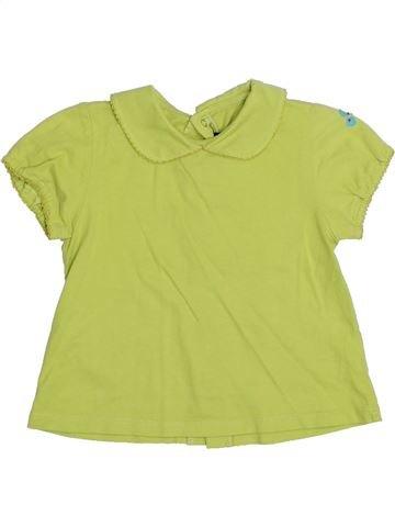 T-shirt manches courtes fille CATIMINI vert 2 ans été #1323210_1