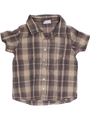 Camisa de manga corta niño NATALYS marrón 2 años verano #1323357_1