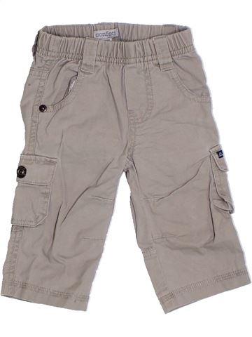 Pantalon garçon CONFETTI gris 6 mois été #1324181_1