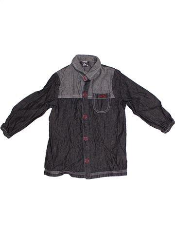 Chemise manches longues garçon TAPE À L'OEIL gris 3 ans hiver #1324198_1