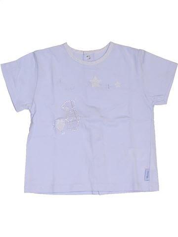 T-shirt manches courtes garçon MINIMAN gris 12 mois été #1324345_1