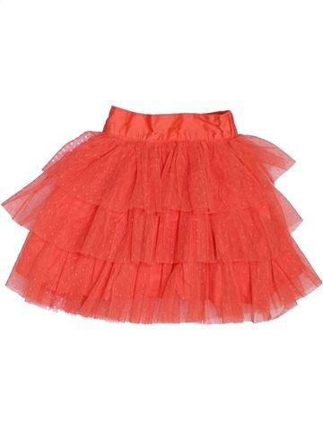 Jupe fille VERTBAUDET orange 2 ans été #1324540_1