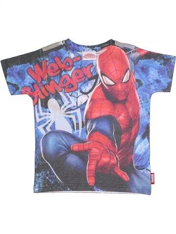 T-shirt manches courtes garçon SUPERS HÉROS bleu 3 ans été #1324906_1