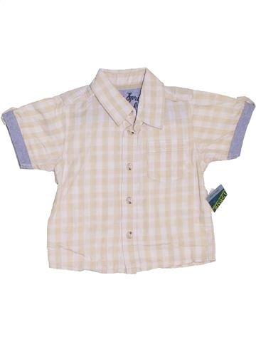 Chemise manches courtes garçon SANS MARQUE violet 9 mois été #1325077_1