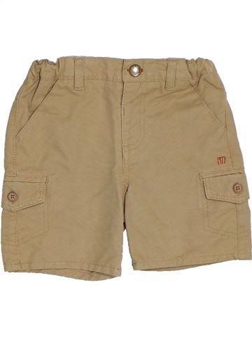 Short-Bermudas niño CYRILLUS marrón 2 años verano #1325221_1