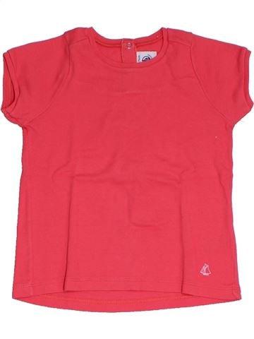 Camiseta de manga corta niña PETIT BATEAU rojo 3 años verano #1325321_1