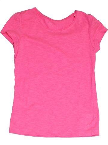 T-shirt manches courtes fille ORCHESTRA rose 10 ans été #1325418_1