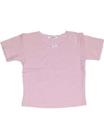 T-shirt manches courtes fille DAMART rose 4 ans été #1325444_1