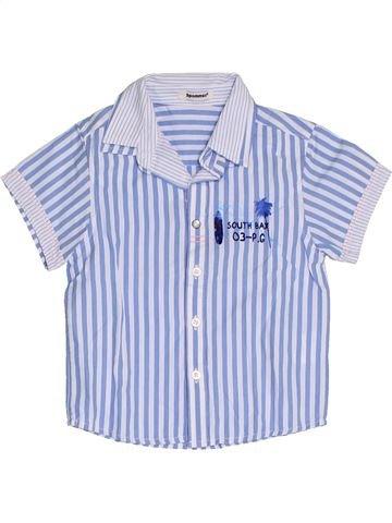 Camisa de manga corta niño 3 POMMES gris 2 años verano #1325514_1