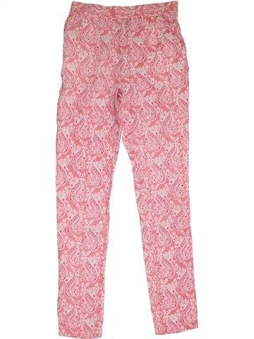 Pantalon fille TAPE À L'OEIL rose 12 ans été #1325715_1