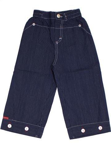 Pantalon fille COUDÉMAIL bleu 2 ans été #1325759_1