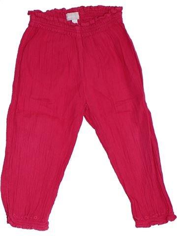 Pantalon fille NATALYS rose 3 ans été #1325765_1