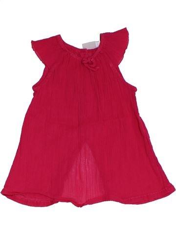 T-shirt manches courtes fille NATALYS rouge 3 ans été #1325767_1