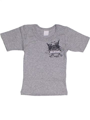 T-shirt manches courtes garçon ABSORBA gris 2 ans été #1325809_1