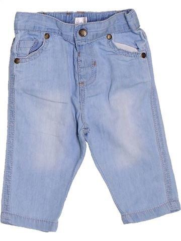 Pantalon fille BRIOCHE bleu 3 mois été #1326007_1