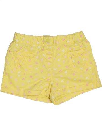 Short - Bermuda fille VERTBAUDET jaune 5 ans été #1326025_1