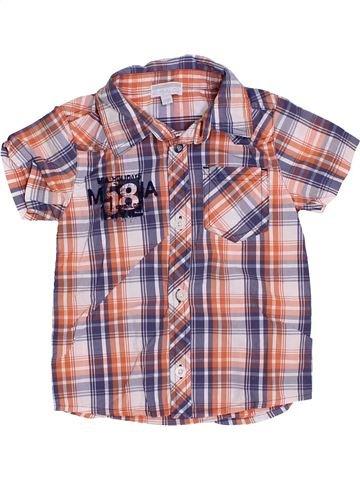 Chemise manches courtes garçon KIMBALOO rose 2 ans été #1326035_1