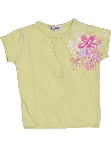 T-shirt manches courtes fille KID COOL vert 3 mois été #1326059_1