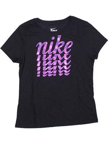 T-shirt manches courtes fille NIKE bleu foncé 13 ans été #1326129_1