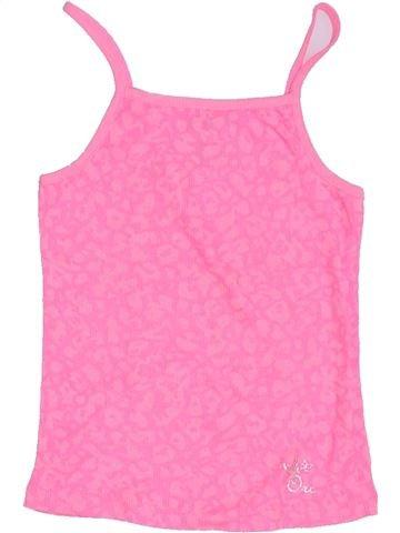 T-shirt sans manches fille ORCHESTRA rose 5 ans été #1326395_1