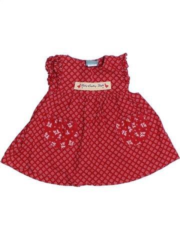 Robe fille MARÈSE rouge 6 mois été #1326773_1