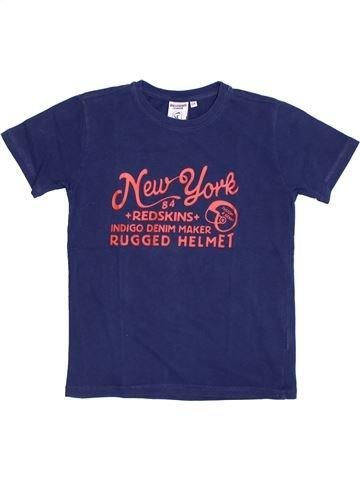 T-shirt manches courtes fille REDSKINS bleu 12 ans été #1326946_1