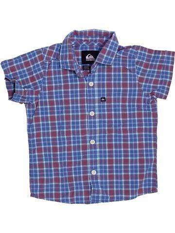 Camisa de manga corta niño QUIKSILVER violeta 3 años verano #1326993_1