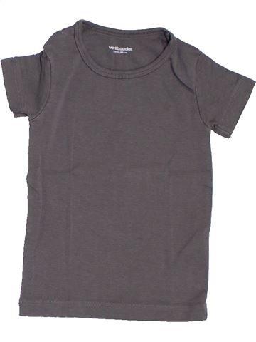 T-shirt manches courtes garçon VERTBAUDET gris 3 ans été #1327024_1