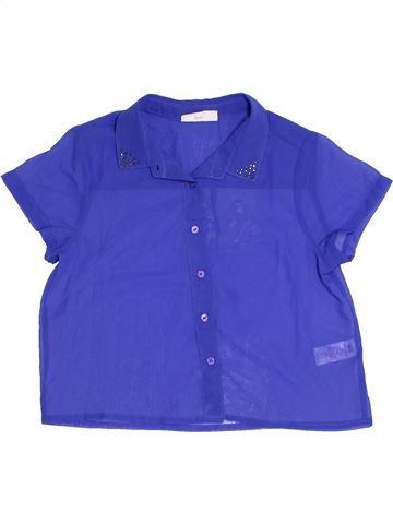 Blusa de manga corta niña BHS azul 11 años verano #1327081_1