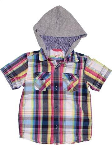 Camisa de manga corta niño BLUEZOO gris 5 años verano #1328052_1