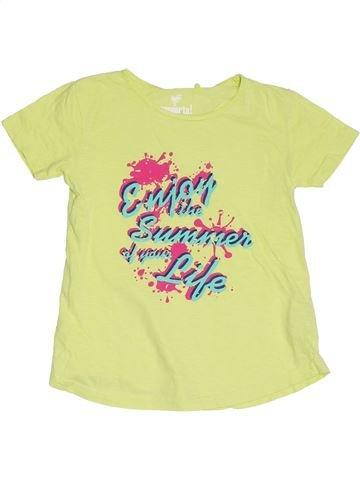 T-shirt manches courtes fille PEPPERTS vert 8 ans été #1328321_1