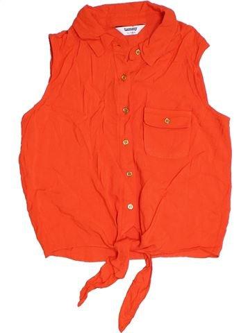 Blusa de manga corta niña TAMMY rojo 13 años verano #1328435_1
