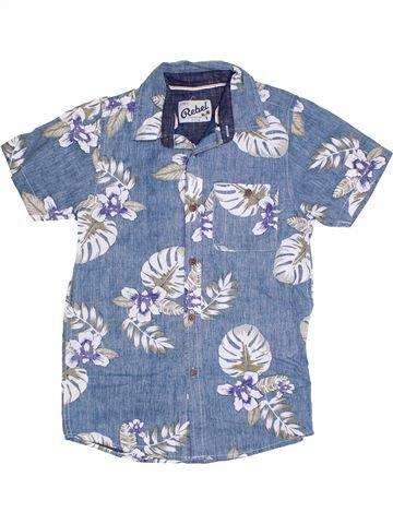 Chemise manches courtes garçon PRIMARK bleu 12 ans été #1328611_1