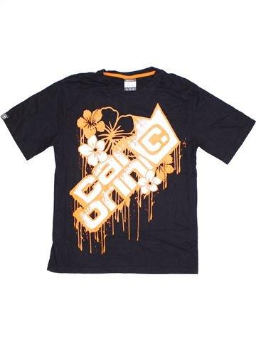 T-shirt manches courtes garçon CARBRINI beige 13 ans été #1328624_1