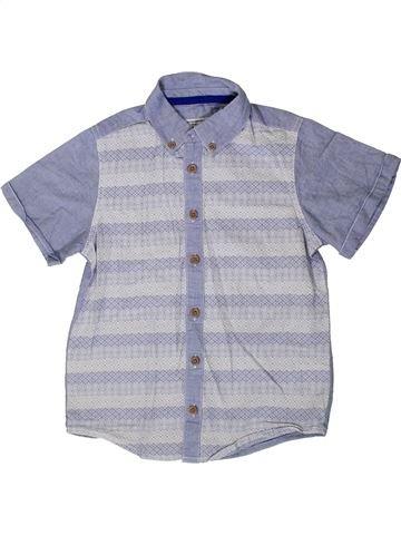 Chemise manches courtes garçon BOYS bleu 7 ans été #1329352_1