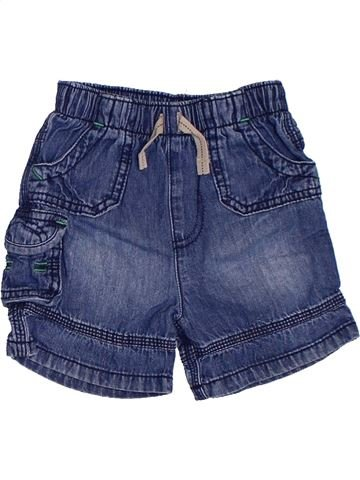 Short - Bermuda garçon GEORGE bleu 12 mois été #1329429_1