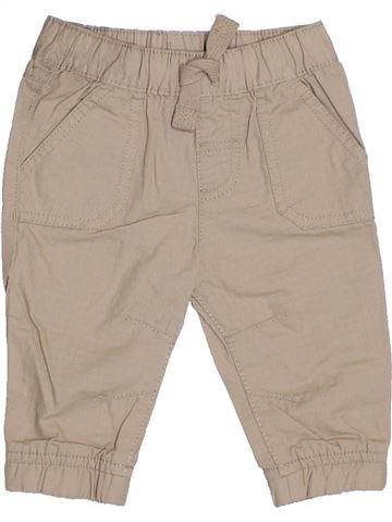 Pantalon garçon F&F beige 6 mois été #1329728_1