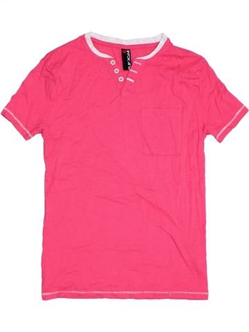 T-shirt manches courtes garçon FLIPBACK rose 12 ans été #1329907_1