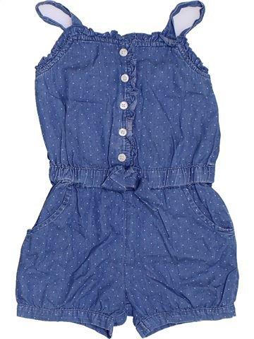 Combinaison courte fille GAP bleu 4 ans été #1330044_1