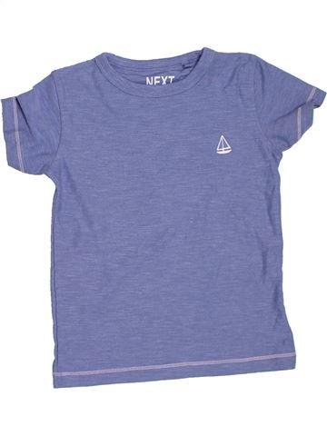 T-shirt manches courtes garçon NEXT violet 3 ans été #1330133_1