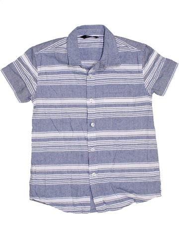 Chemise manches courtes garçon GEORGE bleu 9 ans été #1330469_1