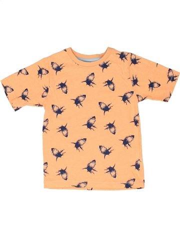 T-shirt manches courtes garçon DEBENHAMS beige 5 ans été #1330572_1