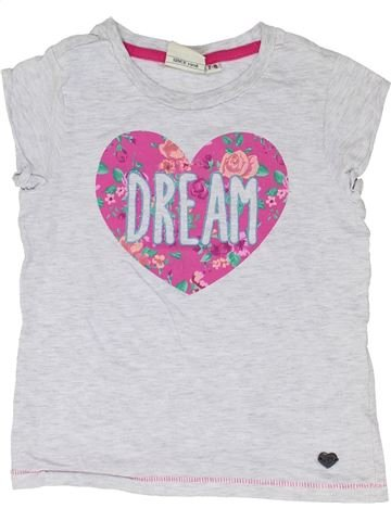 T-shirt manches courtes fille LEE COOPER gris 8 ans été #1330694_1