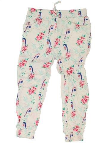 Pantalon fille PRIMARK blanc 5 ans été #1330771_1