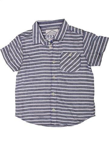 Chemise manches courtes garçon MATALAN gris 6 ans été #1330921_1